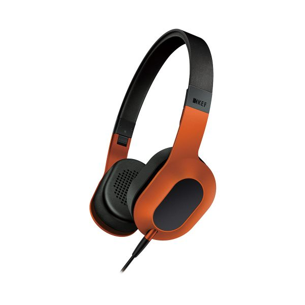 KEF M400 On-Ear Headphones Sunset Orange