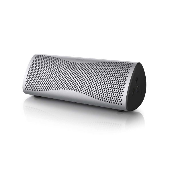 Muo Portable Bluetooth Speaker Light Silver | KEFDirect