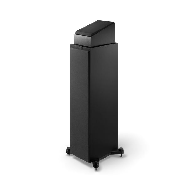 Q50A Dolby Atmos Speaker in Black on Q750 With Grilles