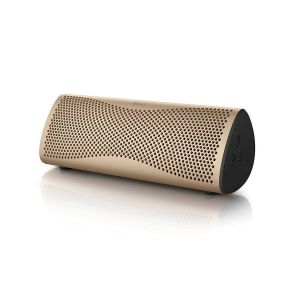 Muo Portable Bluetooth Speaker Gold | KEFDirect