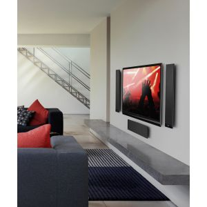 KEF T301c Speaker on Wall