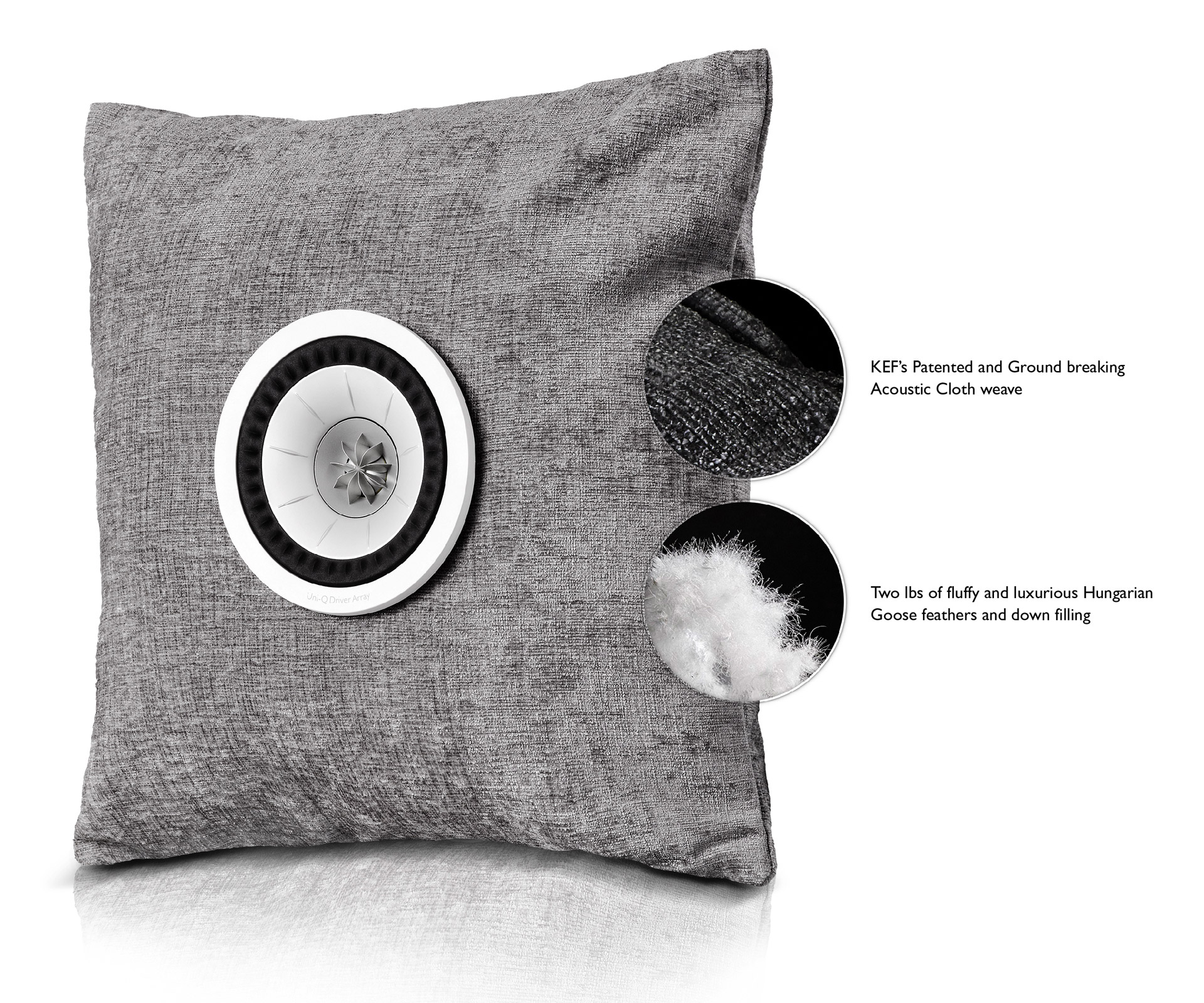 KEF CSH Cushion Speaker Hybrid