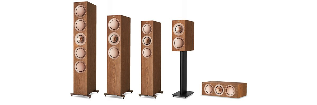 KEF R2C Group Shot