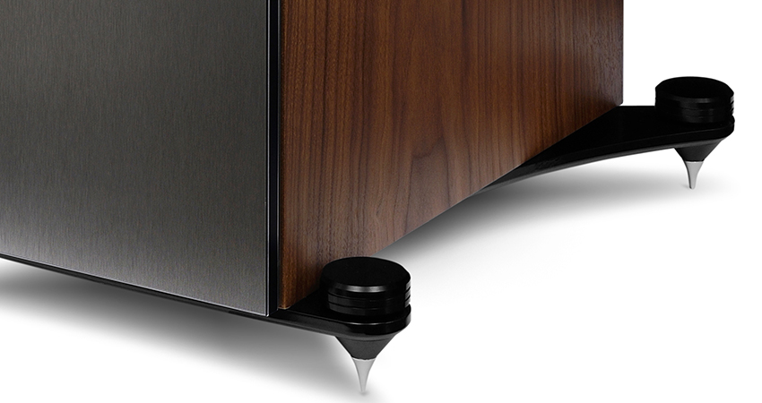 KEF Reference series speaker floor spikes/plinths.