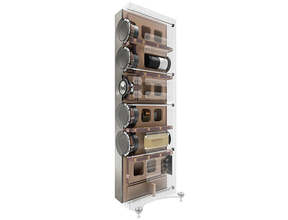 KEF REFERENCE Series cabinet design and engineering