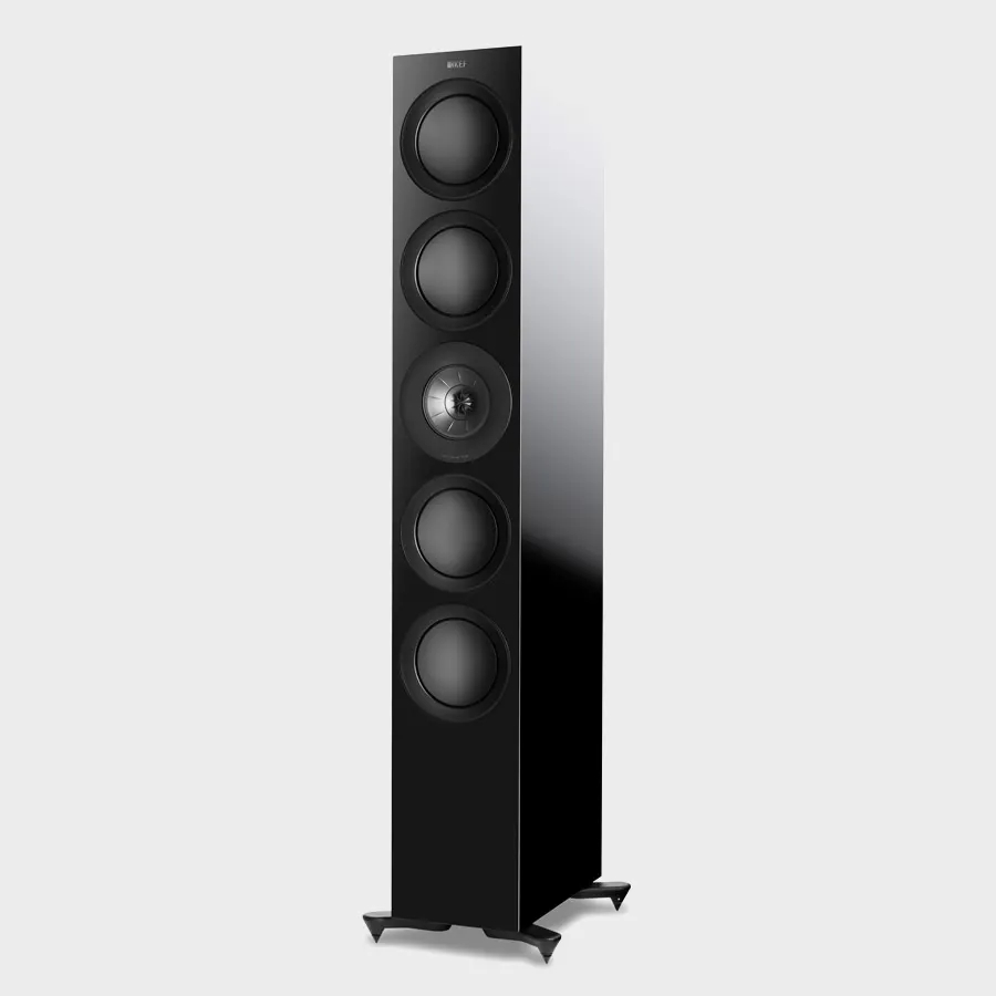 KEF R11 is the flagship three way floorstander of the R Series