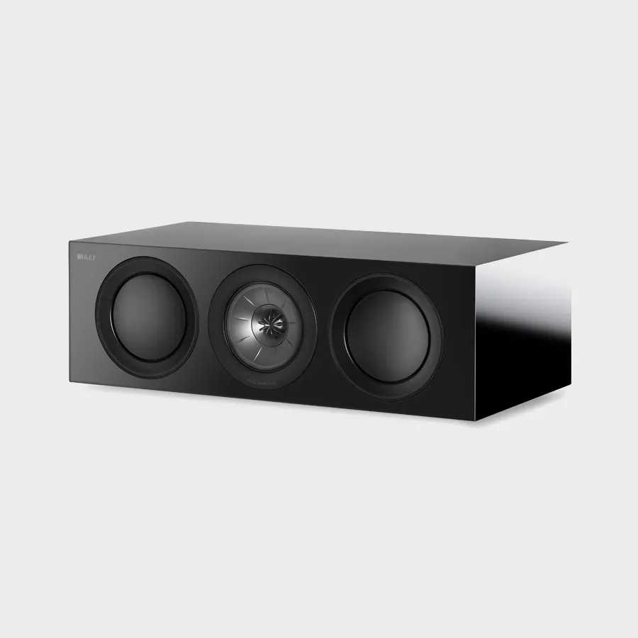 KEF R2c is the three way center channel speaker of the R Series