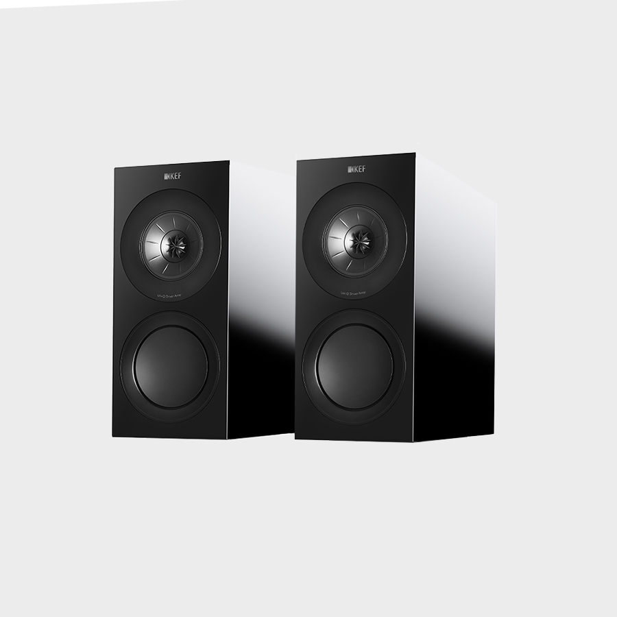 KEF R3 is the three way bookshelf or standmount of the KEF R Series