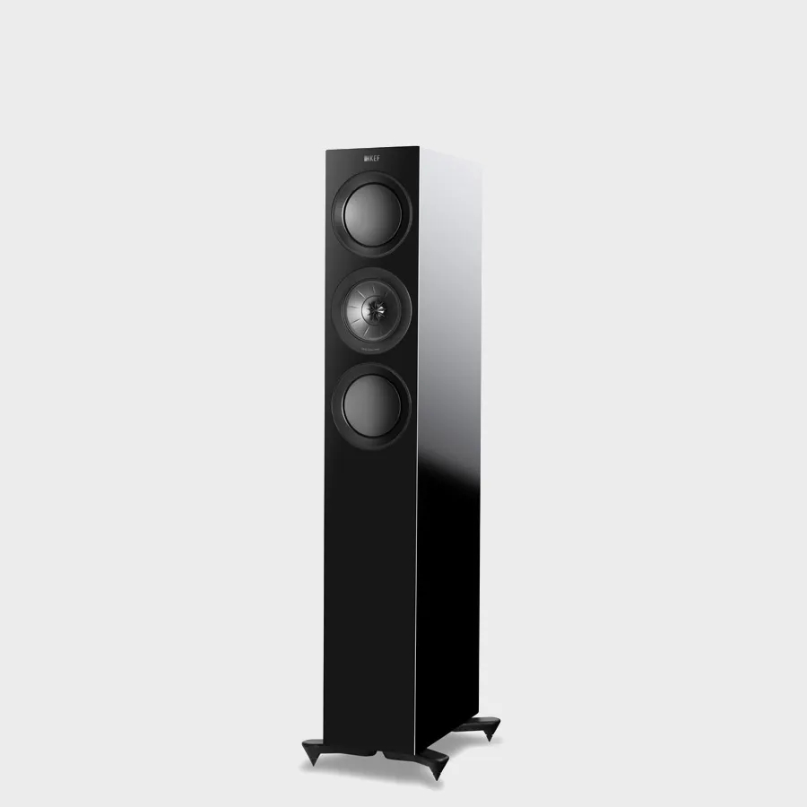 KEF R5 is the compact three way floorstanding speaker of the R Series