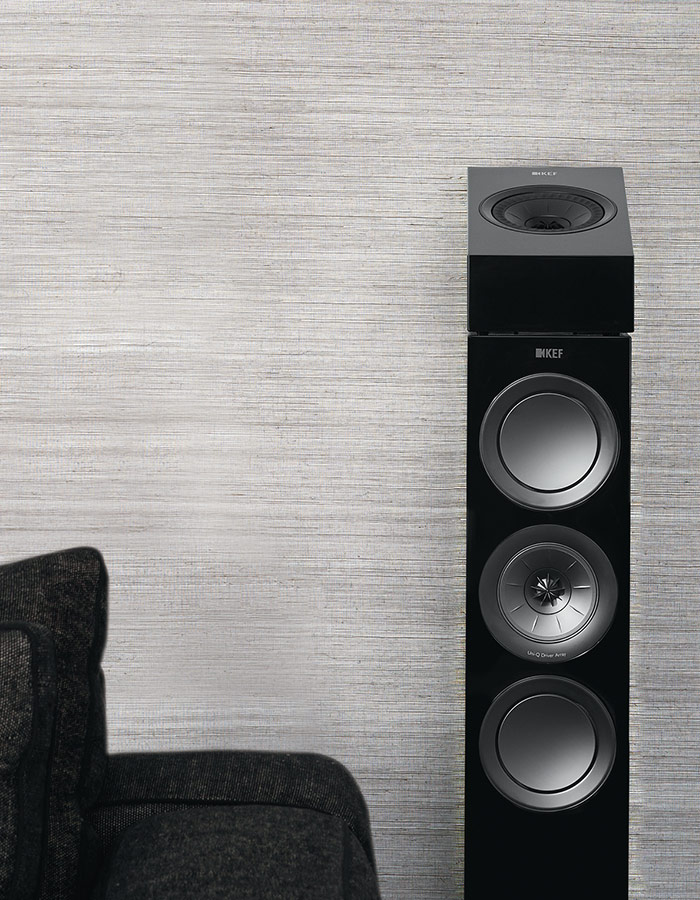 KEF R8a can be used a reflective Dolby Atmos module