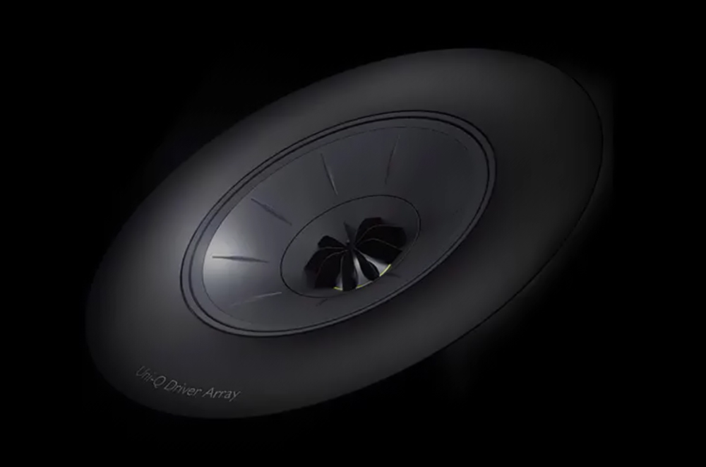 KEF R Series uses Shadowflare to reduce cabinet diffraction
