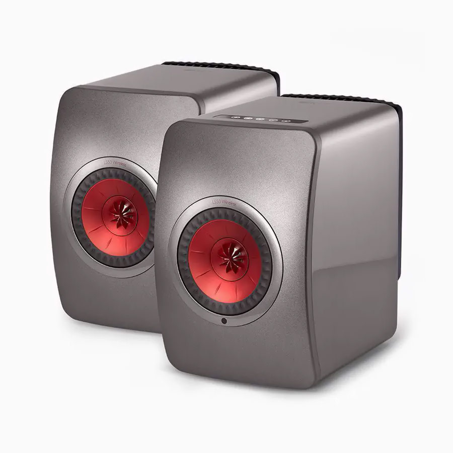 KEF R7 is the mid sized three way floorstanding speaker of the R Series