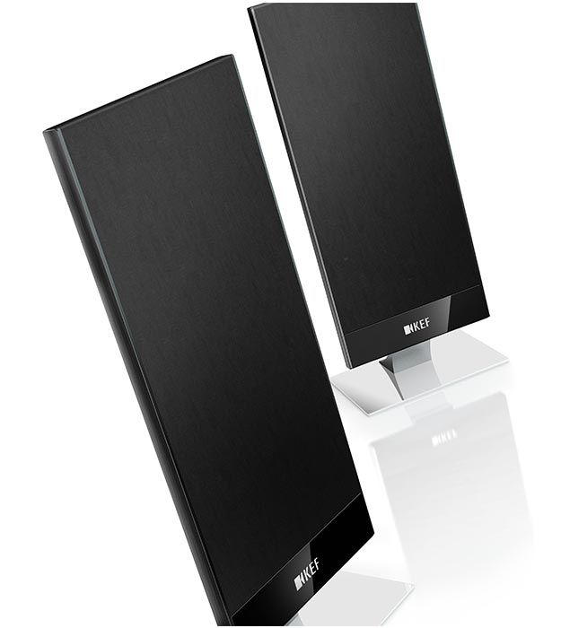 KEF are ultra thin speakers