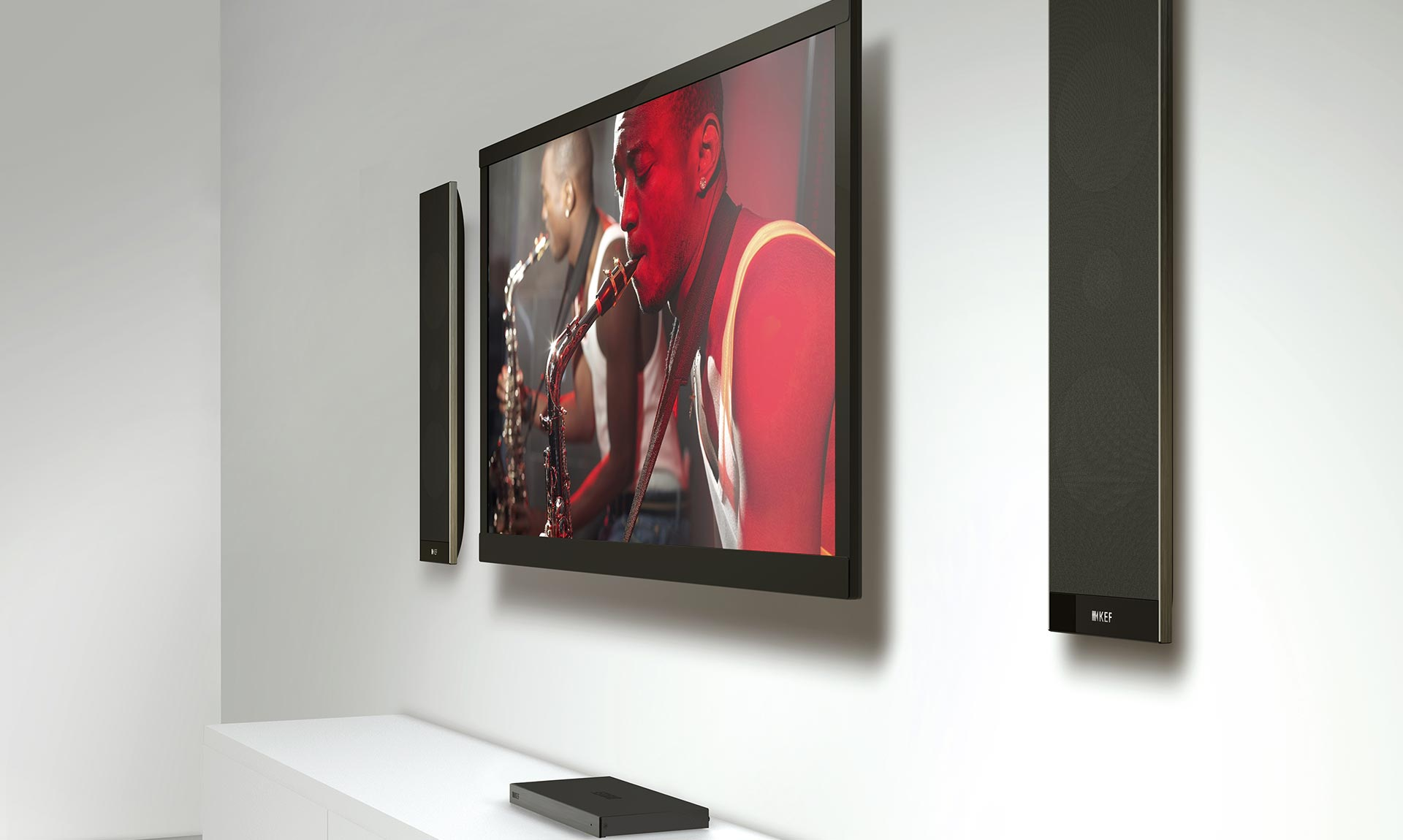 KEF V300 Powered TV Speakers
